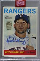 Mitch Moreland (2013 Topps Heritage) [Buy Back] #/37