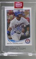 Mitch Moreland (2013 Topps Mini) [Buy Back] #/1