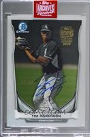 Tim Anderson (2014 Bowman Chrome Top Prospects) [BuyBack] #/99