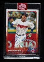 Jose Ramirez (2015 Topps) [BuyBack] #/29