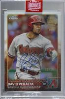 David Peralta (2015 Topps Chrome) [Buy Back] #/16