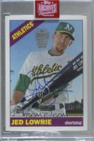 Jed Lowrie (2015 Topps Heritage) [BuyBack] #/34