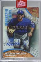 Mitch Moreland (2016 Topps Pressed Into Service) [BuyBack] #/85