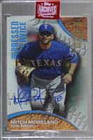 Mitch Moreland (2016 Topps Pressed Into Service) [Buy Back] #/85