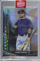 Garrett Hampson (2017 Bowman Chrome - Bowman Scouts' Top 100) [Buy Back] #…