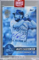 Matt Carpenter (2017 Topps Bunt Blue) [Uncirculated] #/19