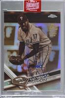 Pat Neshek (2017 Topps Chrome Sepia Refractor) [Buy Back] #/1