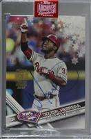 Odubel Herrera (2017 Topps Holiday) [Buy Back] #/48