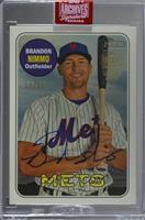 Brandon Nimmo (2018 Topps Heritage) [Buy Back] #/36