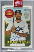 Chris Taylor (2018 Topps Heritage) [Buy Back] #/34