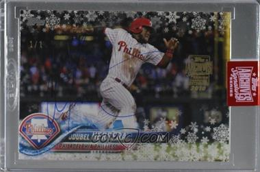 2019 Topps Archives Signature Series Active Player Edition Buybacks - [Base] #18THMW-HMW26 - Odubel Herrera (2018 Topps Holiday) /1 [BuyBack]