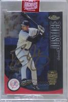 David Justice (2001 Topps Finest) [BuyBack] #/33