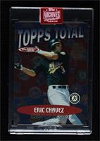 Eric Chavez (2001 Topps Total) [BuyBack] #/1