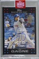 Eric Gagne (2007 Topps Update Red) [BuyBack] #/1