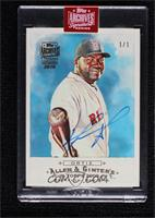 David Ortiz (2009 Allen & Ginter) [Buy Back] #/1