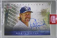 Robin Yount (2017 Topps Bunt Perspectives) [BuyBack] #/1