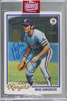 Mike Hargrove (1978 Topps) [Buy Back] #/62