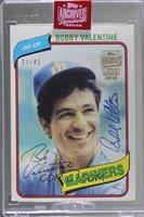 Bobby Valentine (1980 Topps) [BuyBack] #/41