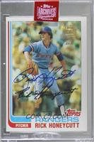 Rick Honeycutt (1982 Topps) [Buy Back] #/99