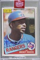 Mickey Rivers (1985 O-Pee-Chee) [Buy Back] #/56