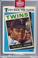 Tony Oliva (1989 Topps Tiffany) [BuyBack] #/15