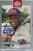 Charles Johnson (1991 Topps Stadium Club Skydome) [BuyBack] #/99