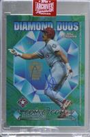 Juan Gonzalez (Auto), Ivan Rodriguez (No Auto) (1997 Topps Chrome Diamond Duos)…