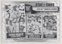 Stat Kings - Nick Markakis, Anthony Rendon, Freddie Freeman #/50