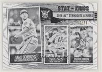Stat Kings - Patrick Corbin, Max Scherzer, Jacob deGrom #/50