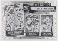 Stat Kings - Corey Kluber, Justin Verlander, Blake Snell /50
