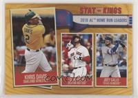 Stat Kings - Joey Gallo, J.D. Martinez, Khris Davis