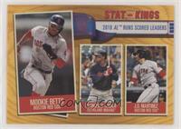 Stat Kings - J.D. Martinez, Francisco Lindor, Mookie Betts [EXtoNM]