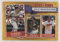 Stat Kings - Edwin Encarnacion, Khris Davis, J.D. Martinez