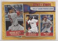 Stat Kings - Mike Trout, J.D. Martinez, Mookie Betts