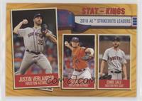 Stat Kings - Chris Sale, Gerrit Cole, Justin Verlander