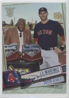 Award Winners - J.D. Martinez (Receiving Award from Hank Aaron) #/100