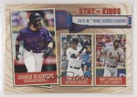 Stat Kings - Matt Carpenter, Christian Yelich, Charlie Blackmon
