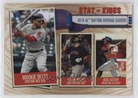 Stat Kings - Jose Altuve, J.D. Martinez, Mookie Betts
