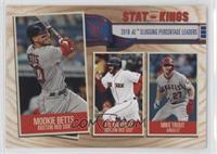 Stat Kings - Mike Trout, J.D. Martinez, Mookie Betts