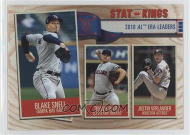 2019 Topps Big League - [Base] #363 - Stat Kings - Justin Verlander, Trevor Bauer, Blake Snell
