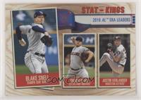 Stat Kings - Justin Verlander, Trevor Bauer, Blake Snell
