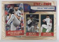Stat Kings - Corey Kluber, Justin Verlander, Blake Snell