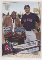 Award Winners - J.D. Martinez (Receiving Award from Hank Aaron)