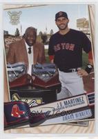 Award Winners - J.D. Martinez, Hank Aaron