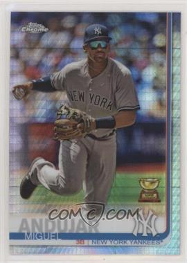 2019 Topps Chrome - [Base] - Prism Refractor #108 - Miguel Andujar