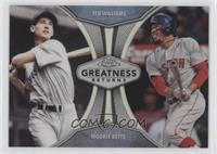 Ted Williams, Mookie Betts