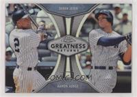 Aaron Judge, Derek Jeter