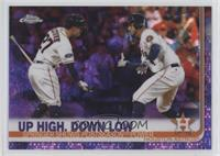 Up High, Down Low (Springer Shows Postseason Power) #/10