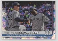 Checklist - The Yankees Win! (Judge and Gregorius Celebrate)
