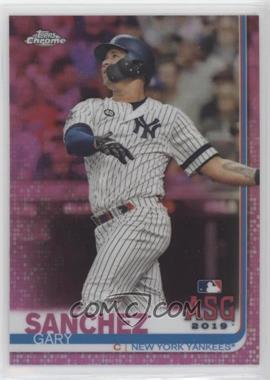 2019 Topps Chrome Update Series - Target [Base] - Pink Refractor #66 - All-Star Game - Gary Sanchez